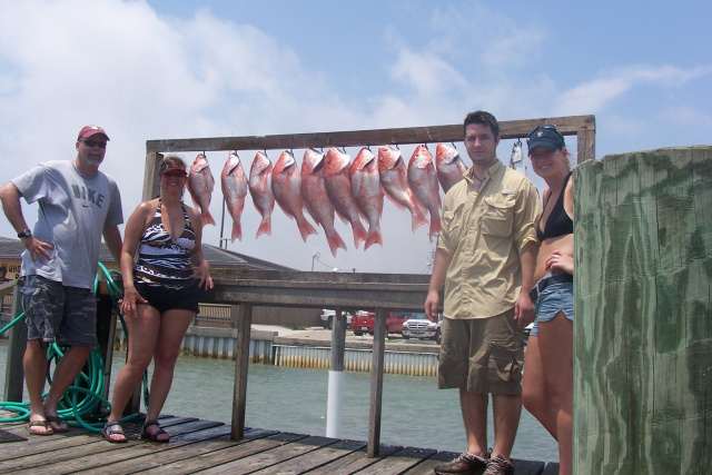 Kingfish - Red Snapper - South Padre Sportfishing